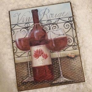 Merlot wine picture